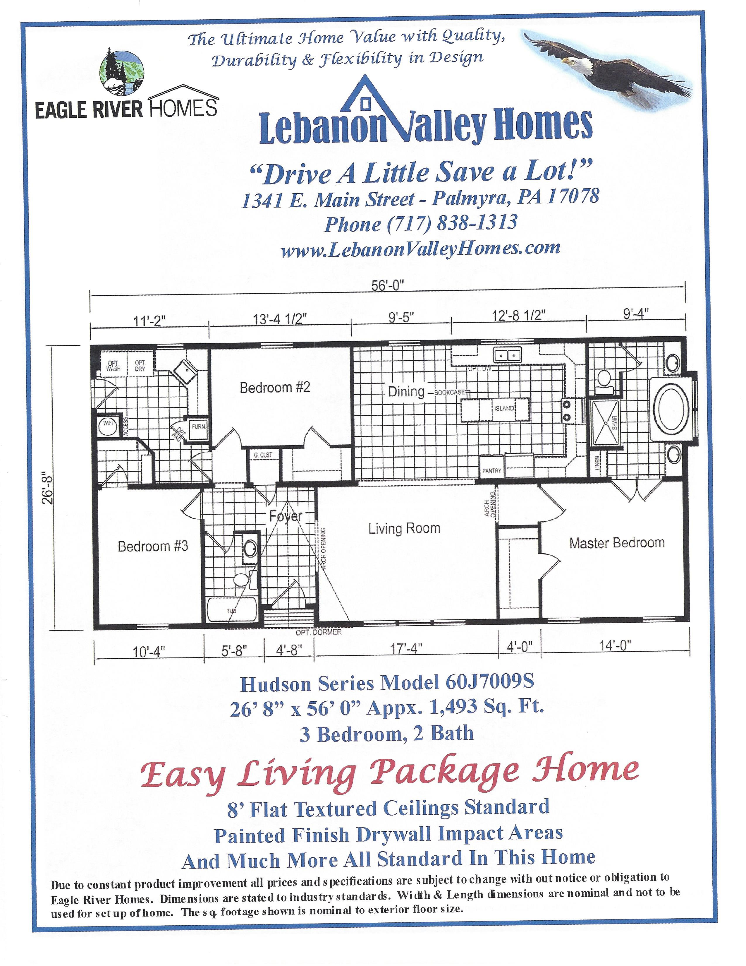 home lebanon valley homes current specials discounted homes